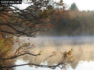 misty-morning-lake