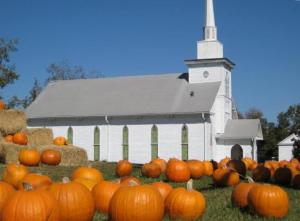 church pumpkins